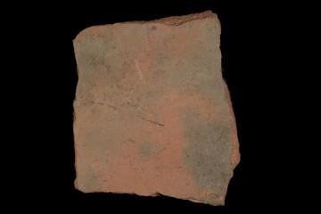 Fragment einer Bodenfliese von der Ketzelburg: Oberseite