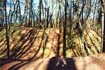 Die Ketzelburg vor Beginn der archäologischen Ausgrabungen