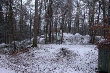 Die Ketzelburg im Winter 2005/2006