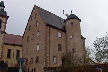 Das Schloss in Wiesen in seiner heutigen Form wurde am Ende des 16. Jahrhunderts errichtet.