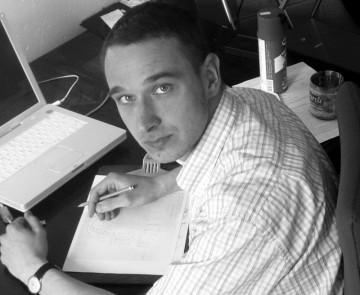 Christian Meyer zu Ermgassen bei der Arbeit