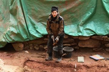 Angelika half uns auch an kalten Tagen ...