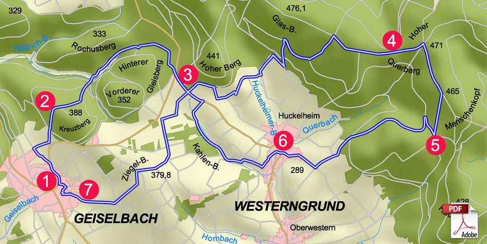 KW Birkenhainer 3 karte