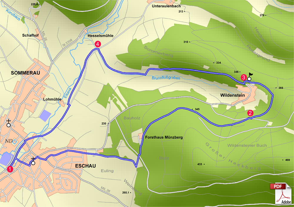 KW Eschau 1 karte