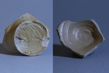 Diese Form des hochwertigen salzglasierten Steinzeugs wurde vor allem auf der Rheinschiene verhandelt.