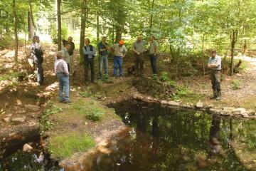 Heute: großes Treffen der Projektpartner vor Ort. Auf der Agenda stand die konkrete Ausgestaltung des archäologischen Parks.