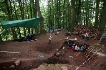 Am Ende der Projektwoche hatten alle eine neue Vorstellung von Archäologie und Denkmalpfelge.