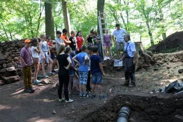 In den Wochen nach dem Schulprojekt kamen täglich weitere Klassen der Waldaschaffer Mittelschule zu Besuch.