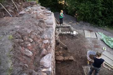 Um 1600 war das Areal nördlich der Nordwestecke der Ringmauer vollständig überbaut.