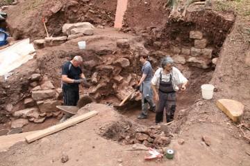 In Schnitt 1 Nord wurde die Kellersohle erreicht.