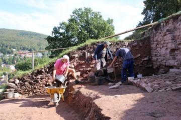 """Manche """"geologische"""" Schichten entpuppten sich beim Ergraben als Überlagerung."""