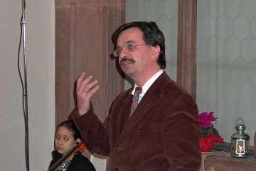 Helmut Flachenecker, Inhaber des Lehrstuhls für Fränkische Landesgeschichte der Universität Würzburg