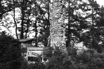 Nutzung des Burgplateaus durch die Partensteiner Schützen (Anfang 20. Jh.)
