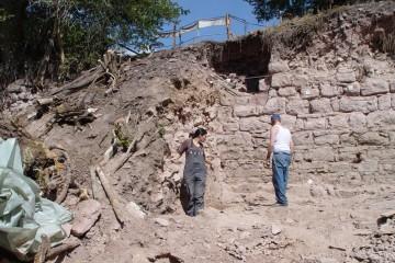 Dokumentation der Schürfungen durch die Universität Gießen im Sommer 2003