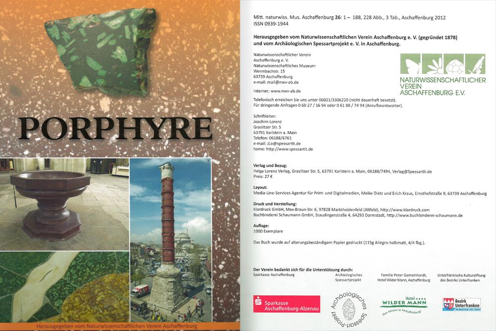 Publikationen Porphyr 2