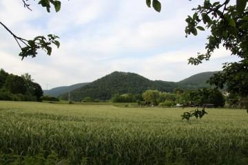 Der Gotthardsberg von Osten aus gesehen