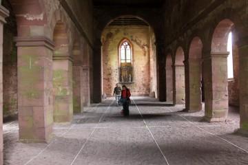 Auch die Vorgängerbebauung unter der Kirche kann mithilfe des Bodenradars erfasst werden.