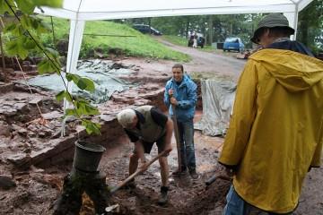 Der Beweis, dass Erich und Robert wasserfest sind :-)