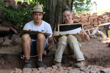 Geologen- und Archäologennachwuchs