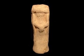 Fragment des Kruselerpüppchens von der Burg Wildenstein