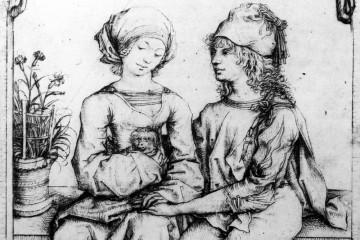 Kupferstich des Meisters des Hausbuchs, um 1485