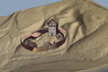 Vor den Grabungen 2016 vermutete man, dass das ursprüngliche Aussehen der Burg Wahlmich sich nur geringfügig von der Ketzelburg in Haibach unterschied.
