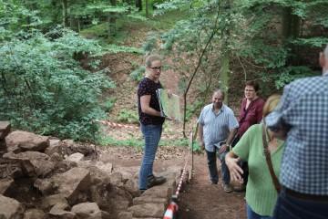 Am Sonntag erlebten wir ein gut besuchtes Grabungsfest.