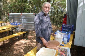 Durchhalten angesagt - Heribert, unser Clean-Manager.