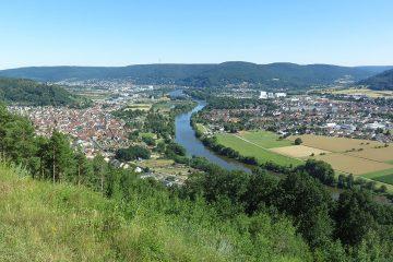 Blick vom Busigberg auf das Maintal