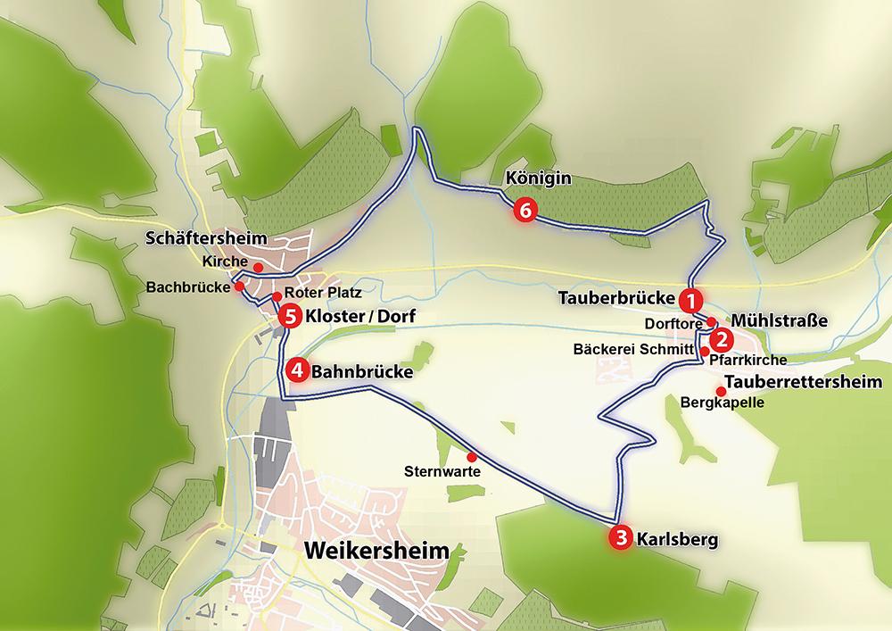 Schaeftersheim / Tauberrettersheim : Im Tal der Königinnen