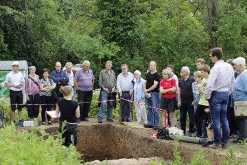 Anlässlich der Europäischen Tage der Archäologie, an der europaweit mehr als 150.000 Personen teilnahmen, wurden vom Archäologischen Spessartprojekt mehrere Führungen über die Grabung angeboten.