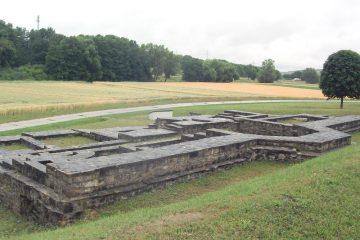 Die Überreste des Jagdschlosses Mädelhofen