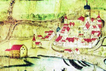 Sommerhausen und Winterhausen im Jahr 1604