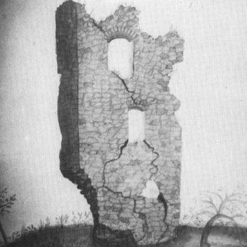 Die Womburgruine (?), aus: Griebel 1982, S. 90