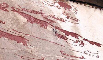Die älteste Darstellung eines Bauern nördlich der Alpen steht für die Kultivierung der Landschaft durch den Menschen