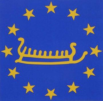 Diesem Logo folgen Sie entlang der Europäischen Kulturwege