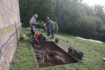 Am nächsten Tag hatten wir bereits die Überreste von drei Individuen ergraben.